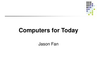 Computers for Today
