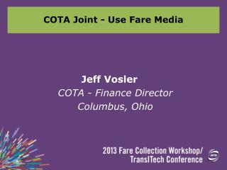 COTA Joint - Use Fare Media