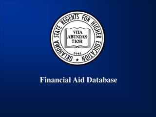 Financial Aid Database