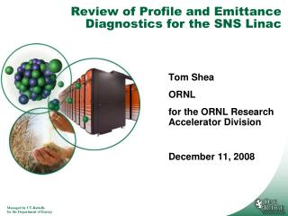 Review of Profile and Emittance Diagnostics for the SNS Linac
