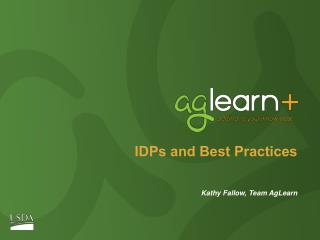IDPs and Best Practices