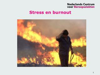 Stress en burnout