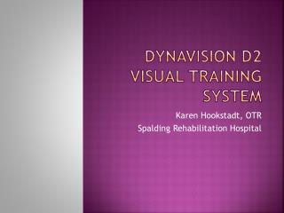 Dynavision  D2 Visual Training System