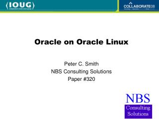 Oracle on Oracle Linux