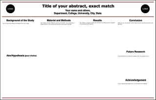Title of your abstract, exact match Your name and others,