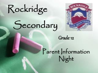 Rockridge    Secondary