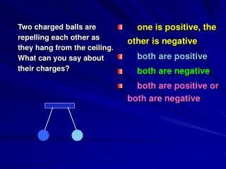 one is positive, the other is negative  both are positive both are negative