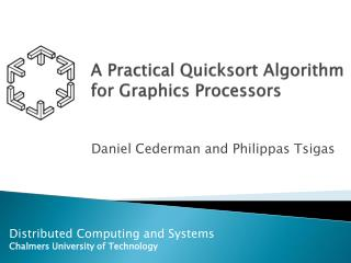 A Practical Quicksort Algorithm for Graphics Processors