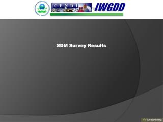 SDM Survey Results