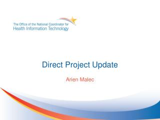 Direct Project Update