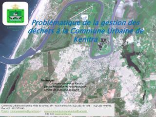 Problématique de la gestion des déchets à la Commune Urbaine de Kenitra