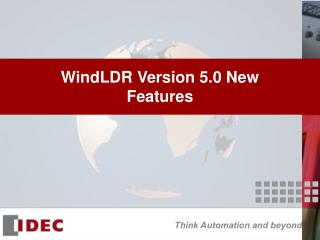 WindLDR Version 5.0 New Features