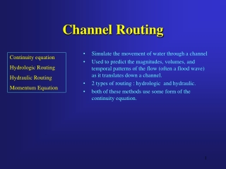 Channel Routing