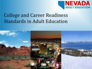 College and Career Readiness Standards in Adult Education