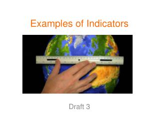 Examples of Indicators