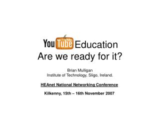 Education Are we ready for it?