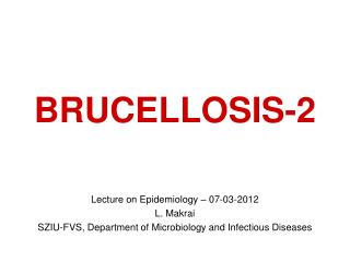 BRUCELLOSIS-2