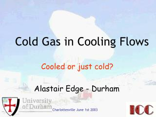 Cold Gas in Cooling Flows