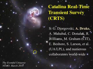 Catalina Real-Time Transient Survey (CRTS)