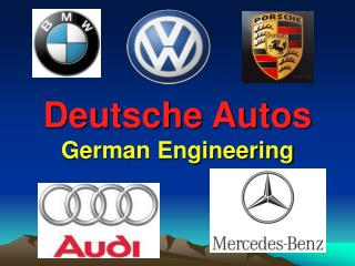 Deutsche Autos German Engineering