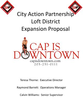 City Action Partnership Loft District Expansion Proposal