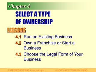 SELECT A TYPE  OF OWNERSHIP