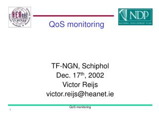 QoS monitoring