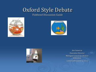 Oxford Style Debate Fishbowl Discussion Guide