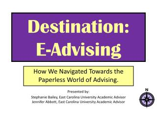 Destination:  E-Advising