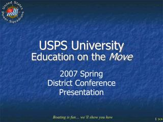 USPS University Education on the Move