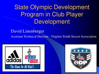 State Olympic Development Program in Club Player Development