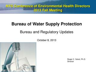 NYS Conference of Environmental Health Directors  2013 Fall Meeting