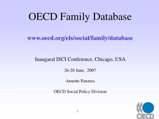 OECD Family Database oecd/els/social/family/database