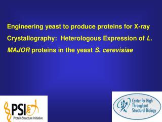 Justification for producing proteins in a eukaryotic host  - limitations of expression in  E. coli