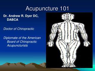 Acupuncture 101