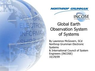 By Lawrence McGovern, SCd Northrop Grumman Electronic Systems