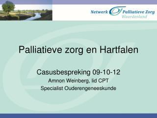 Palliatieve zorg en Hartfalen