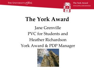 The York Award