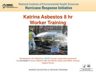 Katrina Asbestos 8 hr  Worker Training
