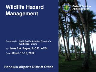 Wildlife Hazard Management