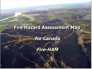 Fire Hazard Assessment Map  for Canada Fire-HAM