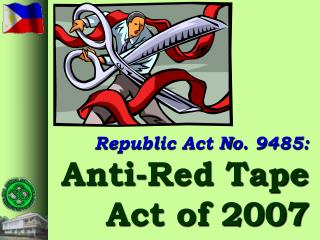 Republic Act No. 9485: Anti-Red Tape  Act of 2007