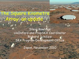 The Square Kilometre Array: an update