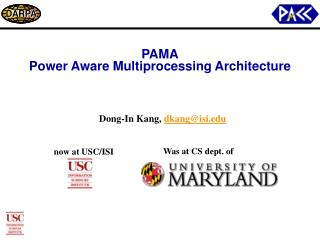 PAMA Power Aware Multiprocessing Architecture