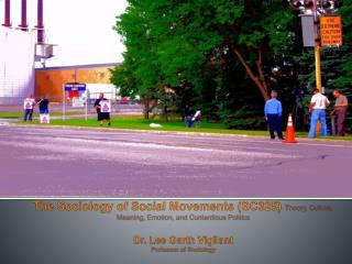 "Re-Conceptualizing ""Social Movements?"""