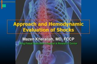 Approach and Hemodynamic Evaluation of Shocks