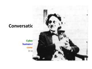 Conversation Theory -  Gordon Pask
