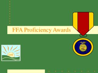 FFA Proficiency Awards