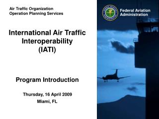 Air Traffic Organization Operation Planning Services