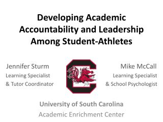 Developing Academic Accountability and Leadership Among Student-Athletes